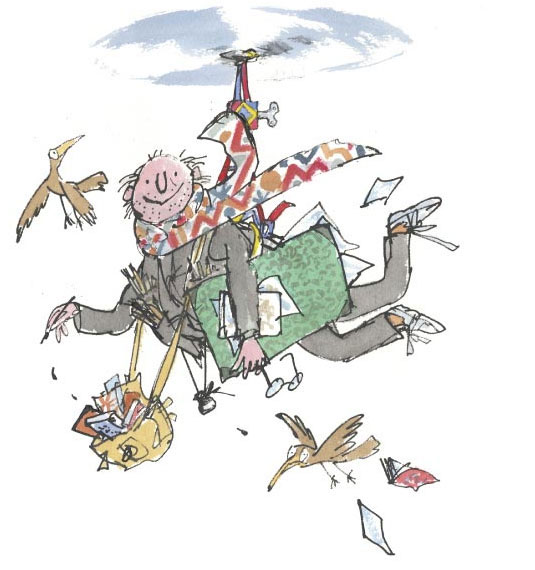 Quentin Blake Illustration
