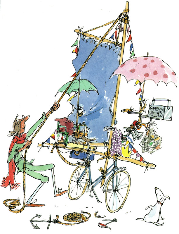 Quentin Blake Illustrationen